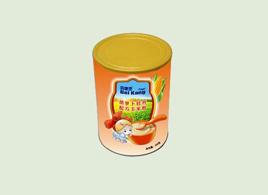 贝康灵营养配方玉米粉专属于婴儿辅食,让宝宝喝到健康!