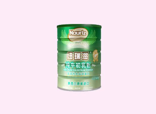纽瑞滋纯牛初乳粉经过科学配比,满足人体所需营养标准!
