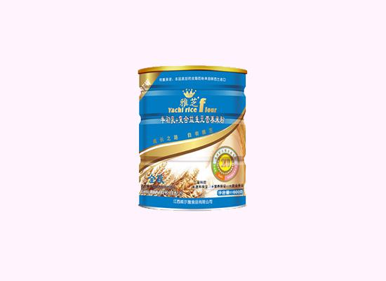 雅芝米粉富含牛初乳和复合益生元双重营养,成长之路自有雅芝!