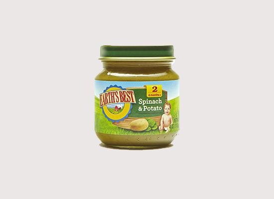 爱思贝菠菜土豆泥采取健康生长蔬菜,让孩子茁壮成长!