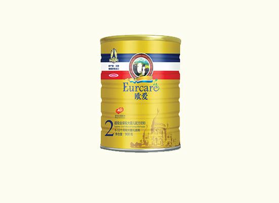 欧爱婴幼儿奶粉坚持每罐品质如一,丝滑般口感诱人食欲!