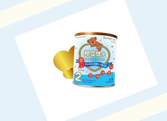 邦立优+婴儿配方乳粉做品质辅食,帮助孩子消化且不上火!