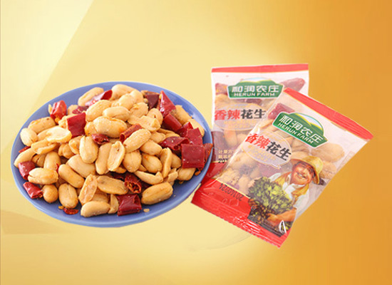 和润香辣花生美味又营养,下酒菜的好选择!
