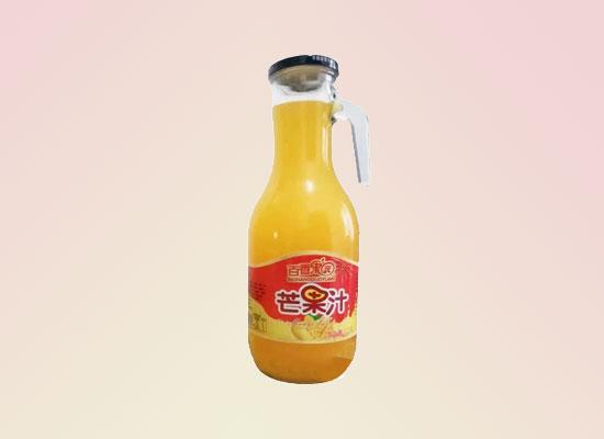 百香田园芒果汁引爆千亿果汁市场,绝对让你震惊
