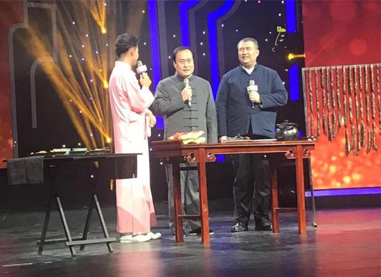 """莱芜""""口镇南肠""""传统制作技艺在山东卫视《非遗说》节目完成录制!"""