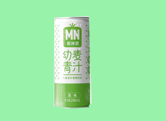 绿色血液——小麦汁