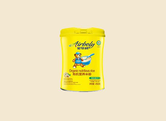 爱堡利有机营养米粉 营养丰富口感细腻