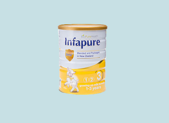 纯净奶源原装进口Infapure纯净宝婴幼儿配方奶粉
