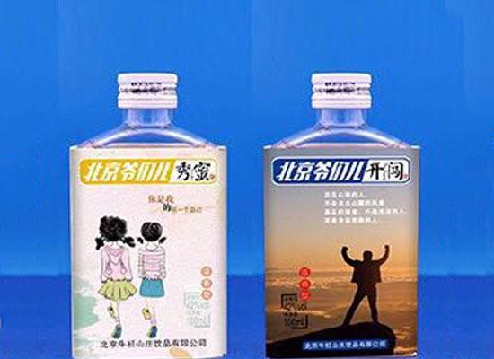 """纯爷们二锅头酒,一款体现""""纯爷们""""情怀的纯粮酒!"""