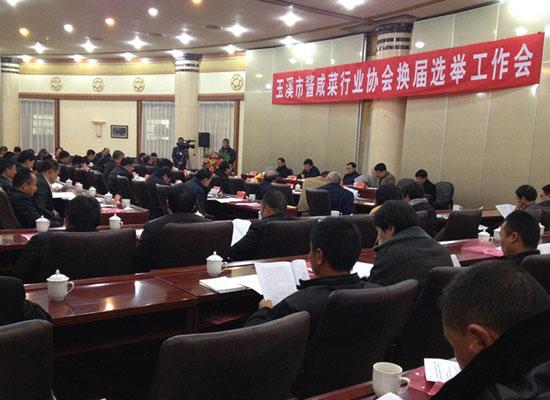 溪市酱咸菜行业协会一届五次会员大会暨换届选举工作会