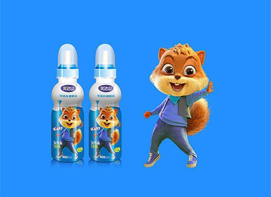 完达山米奇妙乳酸菌掘金百亿儿童饮料市场,成为春夏的爆品!