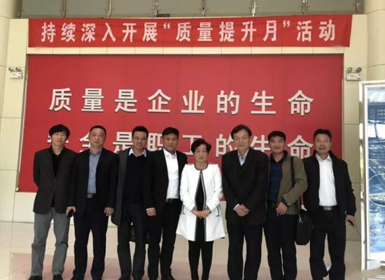 欢迎中国奶业协会副会长兼秘书长前往佳宝乳业调研!