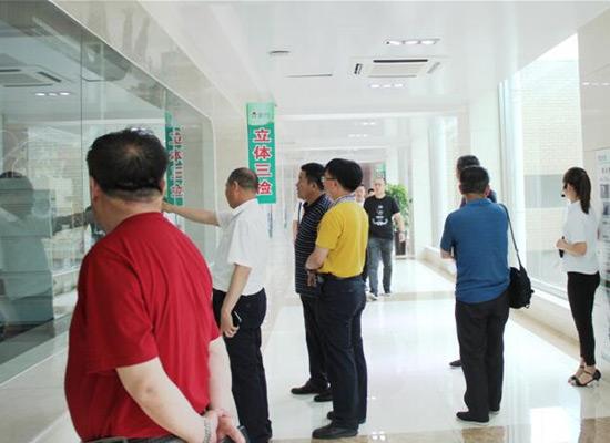 赤峰市农牧业局肉类协会一行参观学习金锣集团