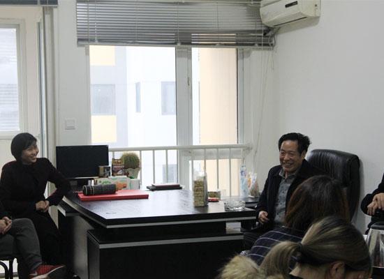 邓正中董事长视察成都分公司