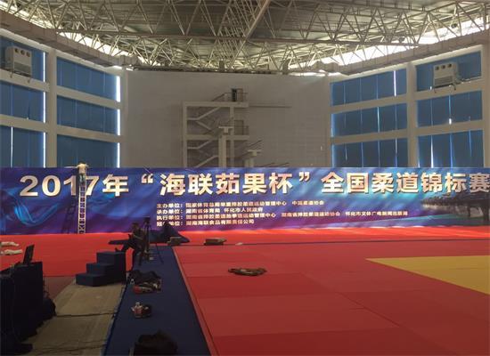 海联总冠名!湖南2017年全国柔道锦标赛