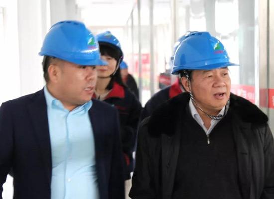 中国粮油学会油脂分会领导视察喜燕花生油