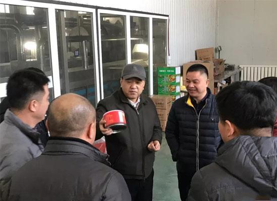区委书记莅临黑龙江哥俩公司检查指导