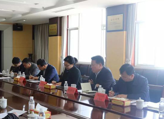 萊西市相關部門負責人到青島萬福集團股份有限公司調研