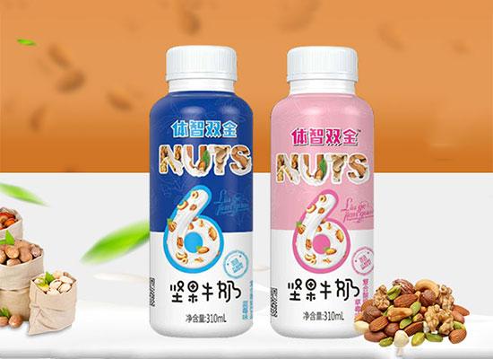 舒然体智双全坚果牛奶,坚果与牛奶的巧妙碰撞,风靡饮品市场!