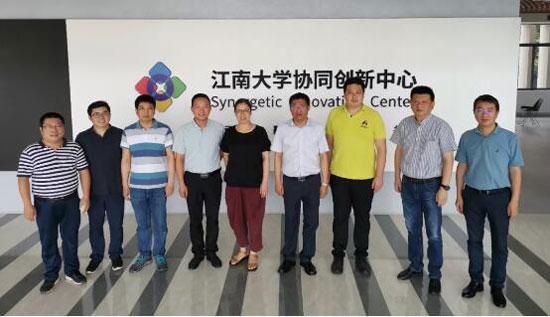 合作共赢|李子园公司与江南大学再度携手共谱新篇