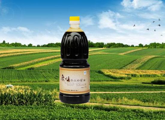 康旺酱油,千万家庭熟悉和信赖的味道