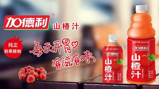 加德利山楂汁饮品,颜值品质俱佳,有滋有味,经销商代理的好产品