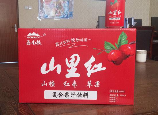 果汁饮品行业大爆发,鑫南极山里红果汁畅销市场