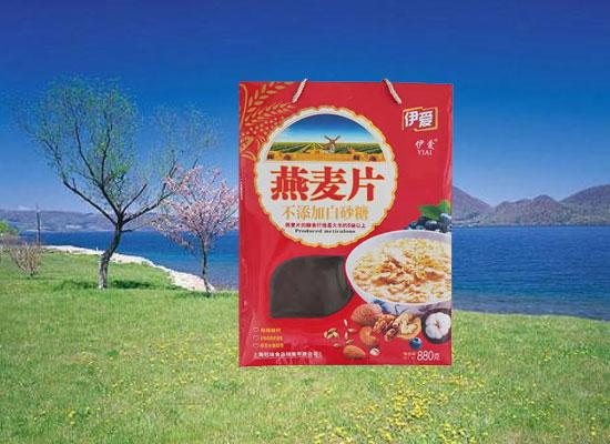 晶鑫公司燕麦片强势来袭,掀起销售狂潮