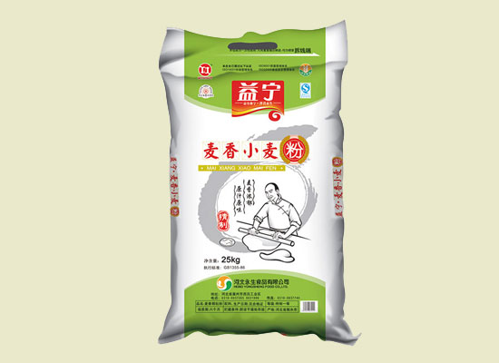 益宁麦香小麦粉,精心挑选优质小麦,散发浓郁麦香
