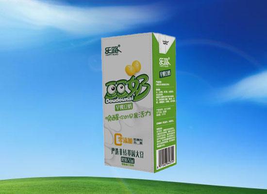 樂路早餐豆奶高品質有營養,早餐市場新機遇