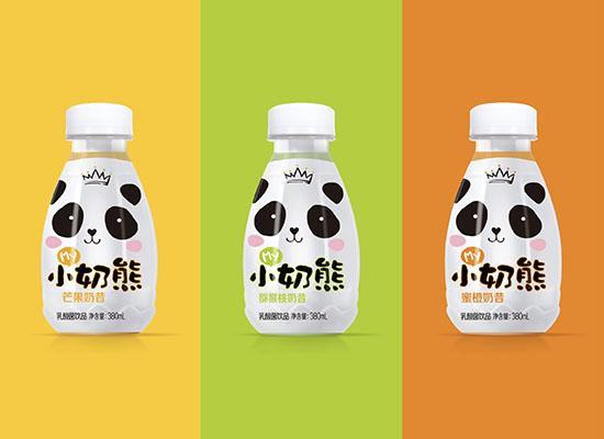 贏人心小奶熊奶昔乳酸菌飲品,新品上市,包裝精美大方惹人喜愛