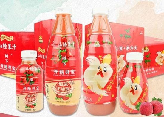 果汁行业的新革命,冠芳山楂果汁饮料让经销商轻松赚钱