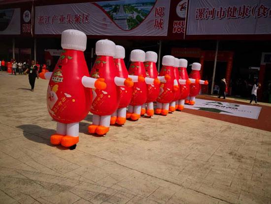 冠芳內金山楂果汁驚艷亮相漯河糖酒會,現場經銷商咨詢不斷!