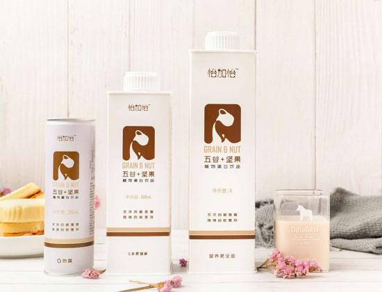 怡佳怡五谷坚果饮品新品上市,带给您不一样的植物蛋白饮品