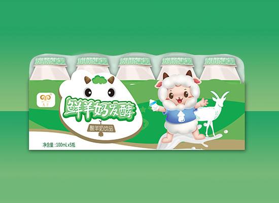 九羊乳业新品上市,打造不同人群的健康饮品,风靡市场
