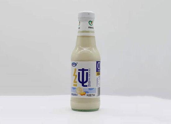 燕塞豆奶,美味营养,产品布局渠道广,风靡市场