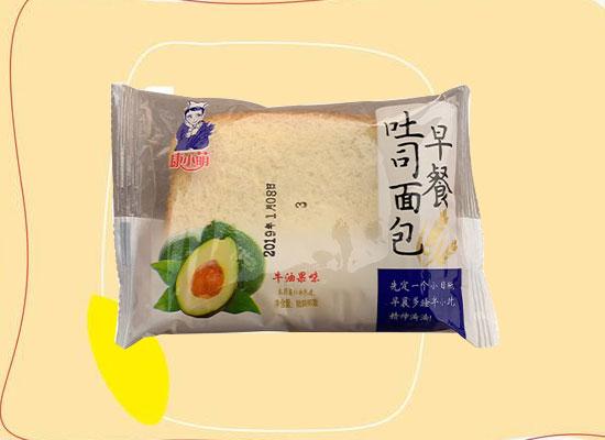 康小萌吐司面包,精选阳光小麦,土司片软糯香甜!