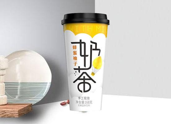蓝猫食品新品上市,浓香新口味奶茶火爆市场!