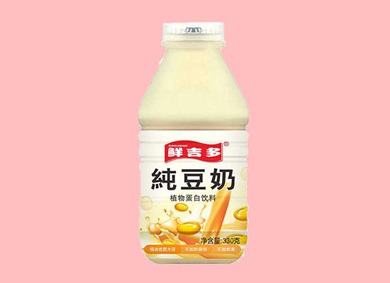 至順鮮吉多豆奶,營養美味享受,掀起飲料市場熱潮