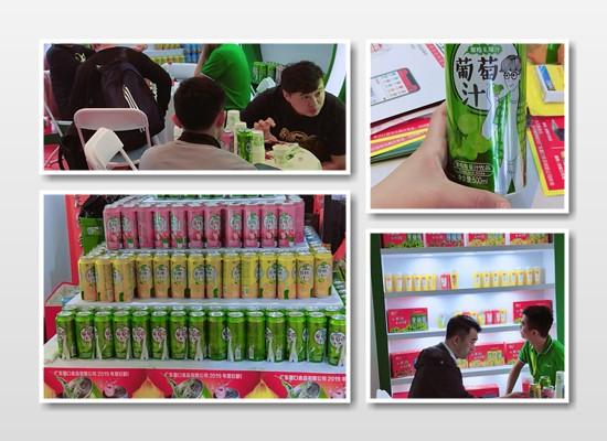广东葡口食品强势登陆天津糖酒会,与您共创商机,共商未来!