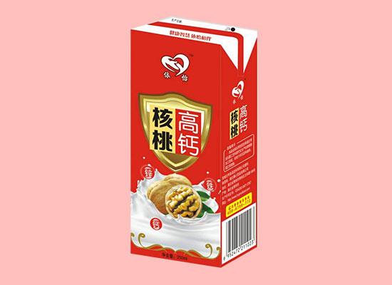 依怡高钙核桃植物蛋白饮品,营养十足,风靡饮品市场