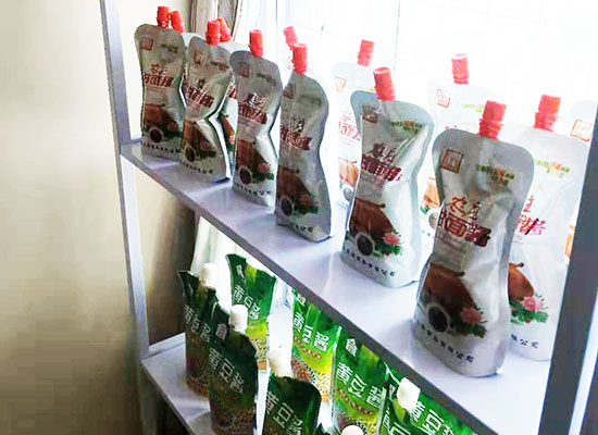 山东邦洋食品有限公司惊艳亮相天津秋糖,产品众多吸引经销商的关注
