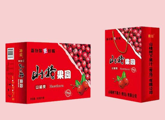 青银山楂果园山楂汁饮料,高品质更美味