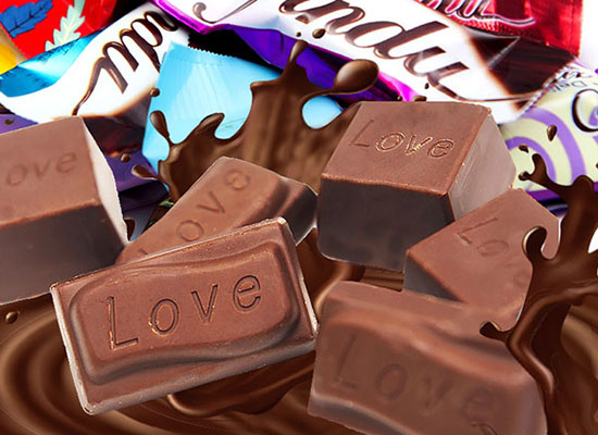 津都巧克力,小巧玲珑,消费者喜爱的休闲零食