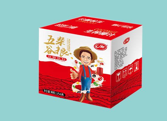 广邦五谷杂粮谷物饮料,营养成分足,品质俱佳