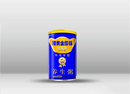 臻黄金搭档中老年型养生粥,美味营养健康好喝,中老年人喜爱的粥类食品