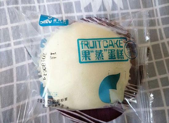 鑫利森果蒸蛋糕,口感好营养高,是经销商代理的好产品