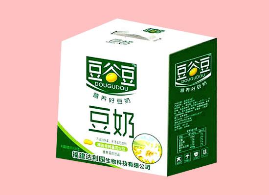 豆谷豆营养好豆奶,营养高质量好,经销商代理的好饮品