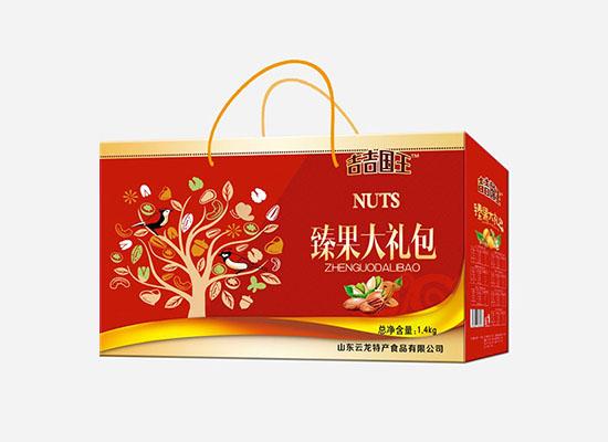 吉吉国王臻果大礼包,美味营养众分享,红色礼盒装彰显大气
