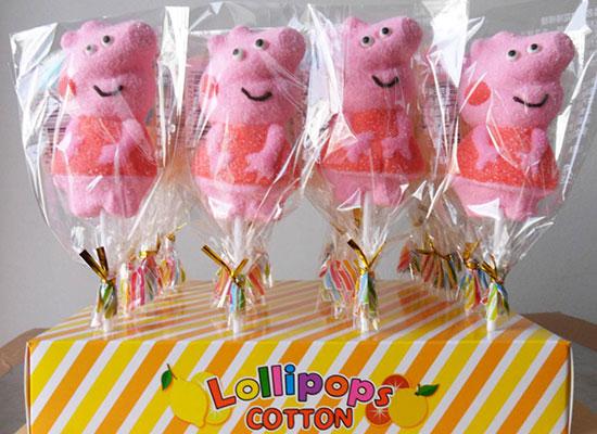 天香小猪佩奇棒棒糖,时尚美味,大受市场欢迎